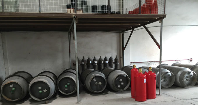 Nontoxic Colorless Heptafluoropropane Agent In Fire Suppression System